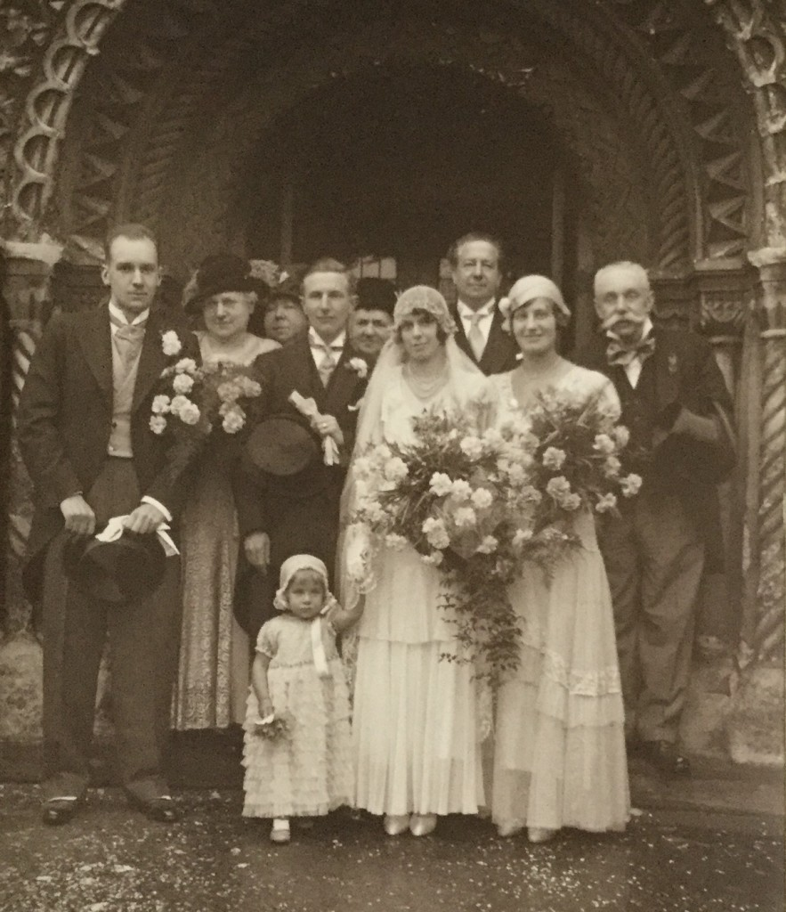 Betty and Frank Taylor's wedding