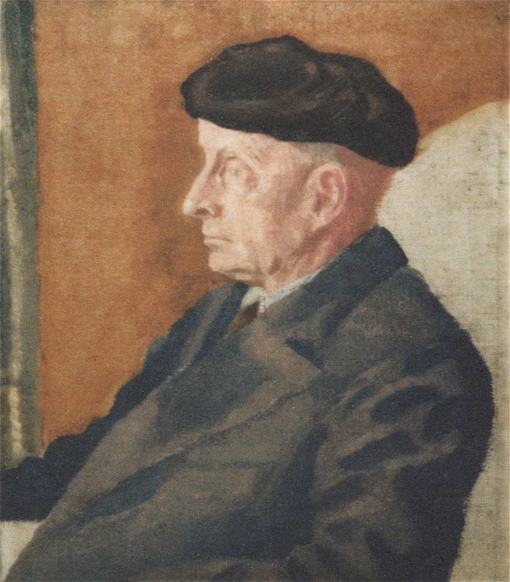 From a portrait of Francis William in oil by Cyril Shingler